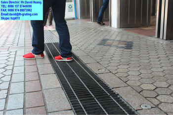 Galvanized Floor Trench Bar Grating Galvanized Drain Cover