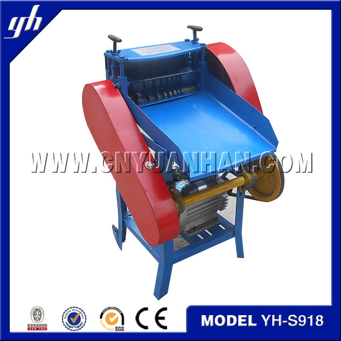 scrap wire stripping machine/copper wire recycling/scrap cable wire separator for sale