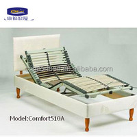 electric adjustable bed with bed frame