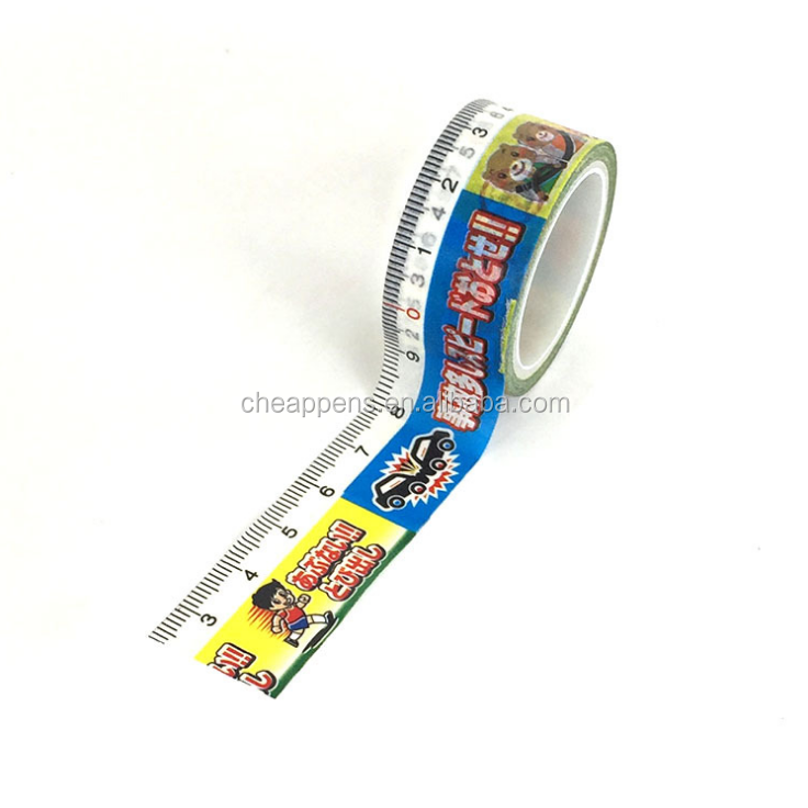 Beautiful Design Printed Washi Paper Adhesive Tape for Hand DIY Crafwork Use