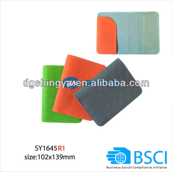 custom PVC passport holder (BCSI factory)