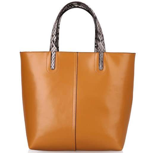 Get Quotations · 100% Genuine Leather Handbag Fashion Cowhide Shoulder Bag  Cabas Big Bags Tote Shopping Bag Women 150f50f63b