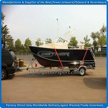 Gather 19ft Aluminium Cuddy Cabin Boat Small Aluminum Cuddy Cabin