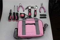 11PC Lady Pink Hand Tool Sets with Color Box