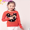 2015 fashion girl sweater new arrival wool hand knit baby sweater