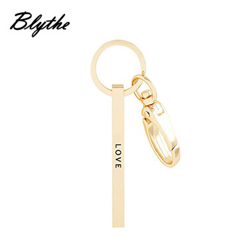 China Gold Custom Shape Personalized Fancy Keychains Manufacturer - Buy  Fancy Keychains,Personalized Keychain,Keychain Manufacturer Product on