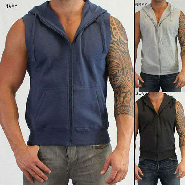 Blank Sleeveless Hoodies, Blank Sleeveless Hoodies Suppliers and ...
