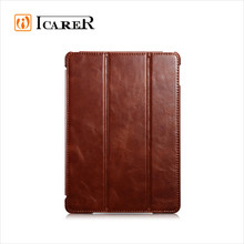 ICARER Vintage Genuine Leather Case for iPad Air 2