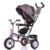 New design 360 degree rotation girls baby tricycle / foldable baby 3 wheel trike car / metal frame child trike for sale
