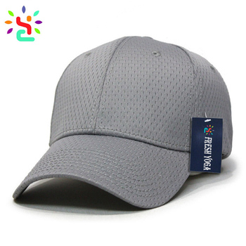 daa59f2247569 Blank fitted cap custom fitted hats plain baseball cap full mesh hat low  profile hats and