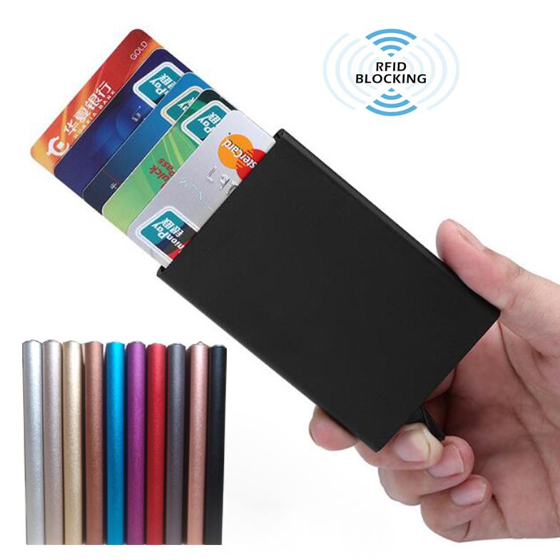 2019 hot sale credit card holder rfid blocking wallet