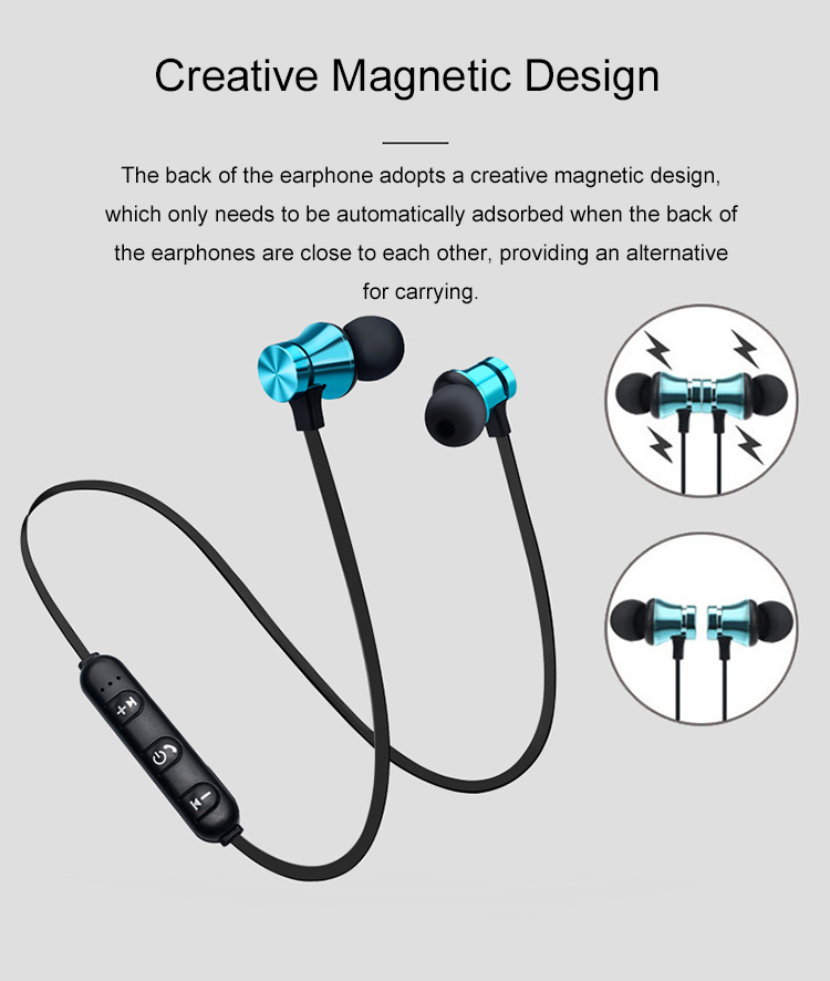 2019 Best Electronic Gift Portable Mini Wireless BT Earbuds with Magnetic