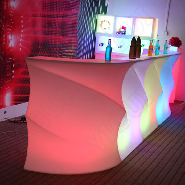 Bases For Centerpieces Wedding Mesas Led Para Bar Counter Table/used  Nightclub Furniture For Sale