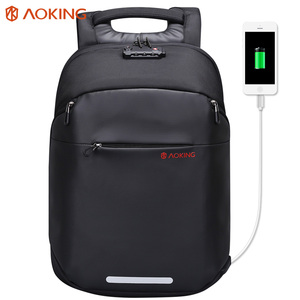 newest style waterproof anti theft men laptop bag leisure travel usb charging anti-shock anti theft backpack with TSA lock