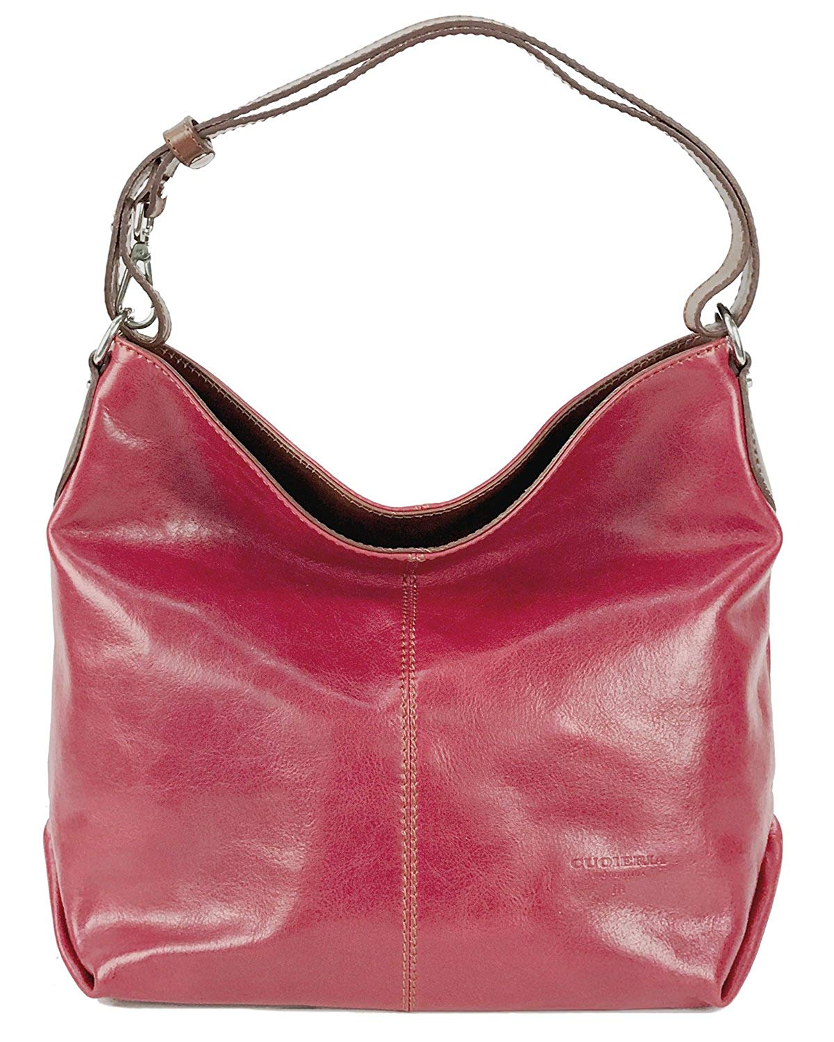 Get Quotations Cuoieria Fiorentina Italian Leather Hobo Handbag