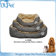 New Product Soft Plush Cheap Designer Dog Beds China Supplier