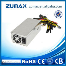 Zuamx potencia 800 w solo 2u ipc server power supply-85 plus plata