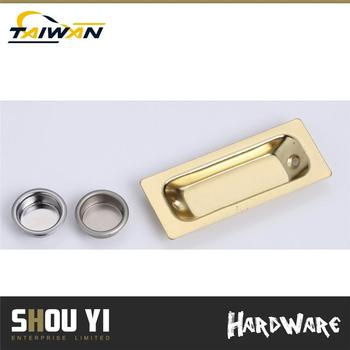 Custom Made Brass Plated Zinc Alloy Door Handles Factories Interior