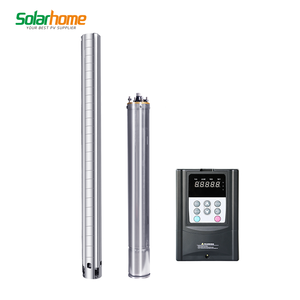 1hp dc solar submersible pump price for home farm agriculture