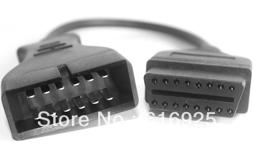 Gm 12pin к obd1 obd2 разъем GM 12 контакт. OBD 2 более низкая цена с высокое качество