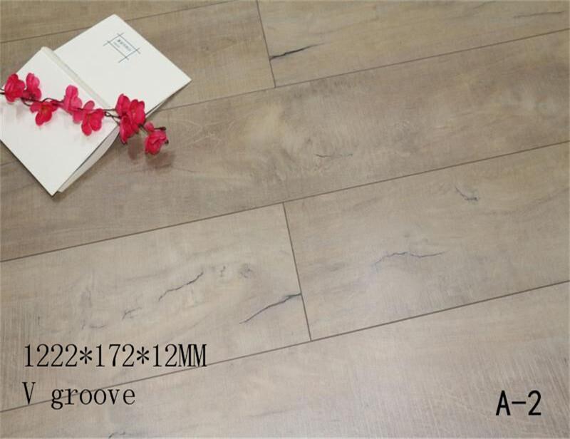8mm Wood Texture Hdf Micro Bevel Edge Laminate Flooring