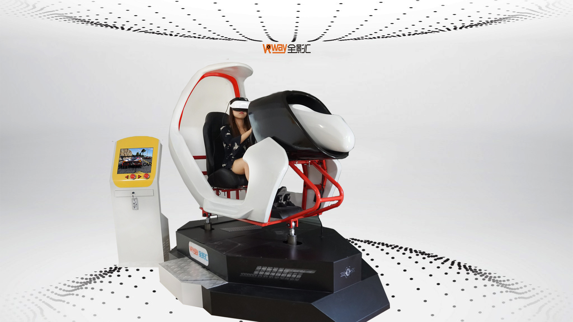 Maart Expo 4d auto simulator Hot Top Selling Gloednieuwe F1 Racewagen Games 9D VR Game Machine F1 Auto Simulator