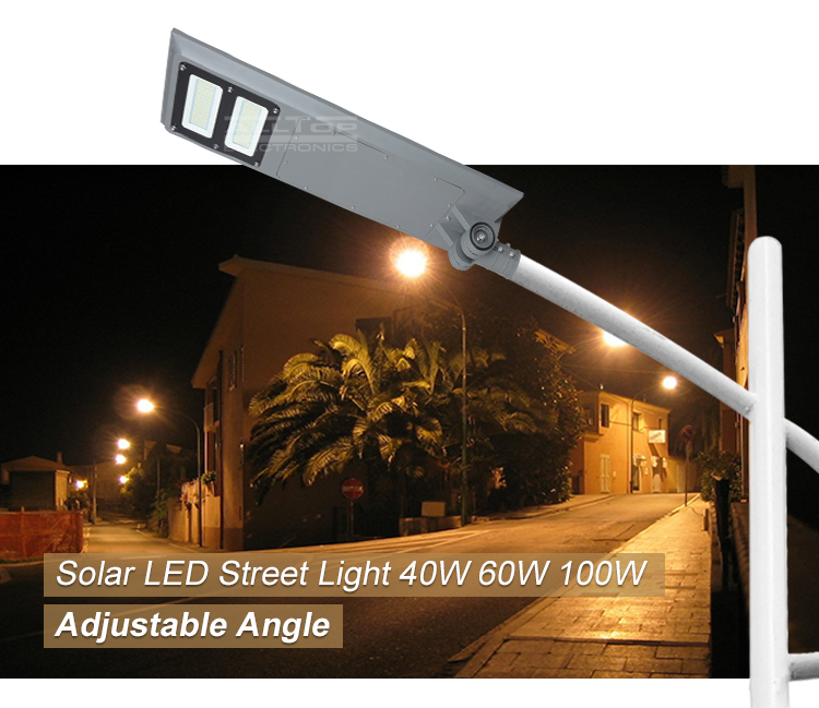 ALLTOP Waterproof ip65 40w 60w 100w integrated all in one led solar street light price