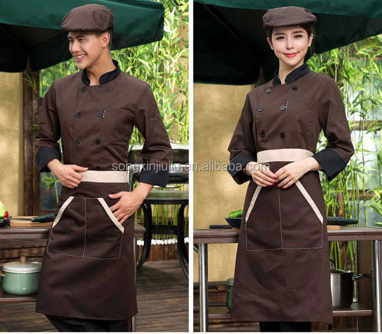 Cheap Custom Professional Black Chef uniform Restaurant Chef Jacket, Executive Chef Uniform Wholesale