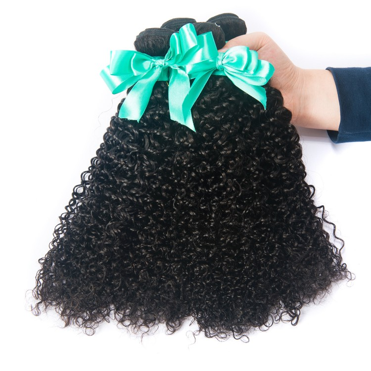 Usexy Raw Unprocessed Hair Weave Wholesale Natural Color Virgin Malaysian Hair Bundle Kinky Curly Hair Extension, Natural color can be dyed and bleached