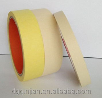 Automotive refinish no residue masking tape
