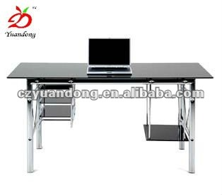 Elegant Modern Glass Office Desk, Modern Glass Office Desk Suppliers And  Manufacturers At Alibaba.com
