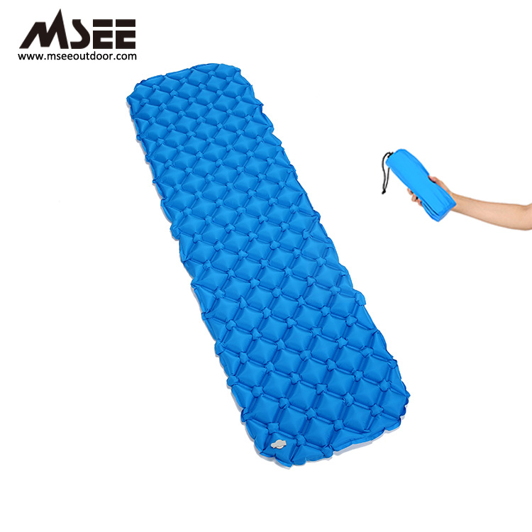 China Gold Supplier Outdoor MSEE Camping Outdoor Inflatable xpe camping mat