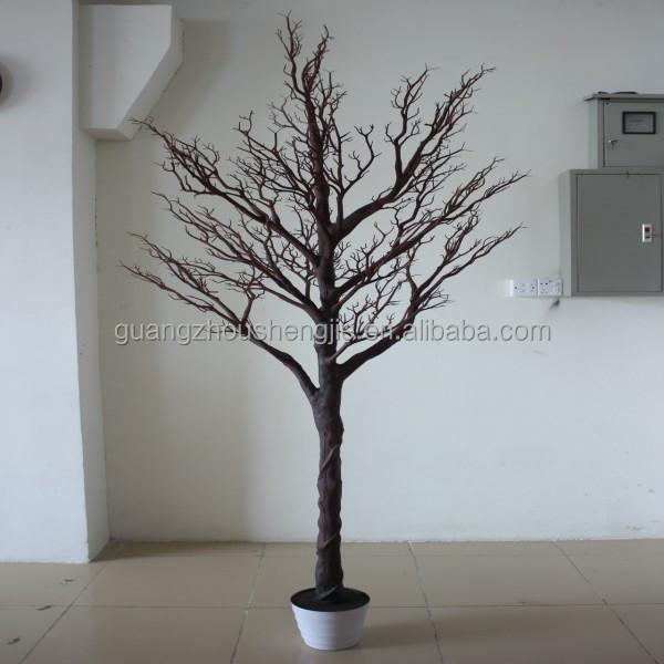 Q120814 rama de rbol artificial rbol seco blanco barato - Arboles secos para decoracion ...