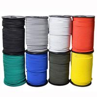 High Strength 3mm 4mm 6mm Fitness elastic bungee cord rope training shock cord