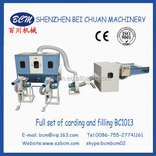 Poly Faiber Machine for Pet Bedding