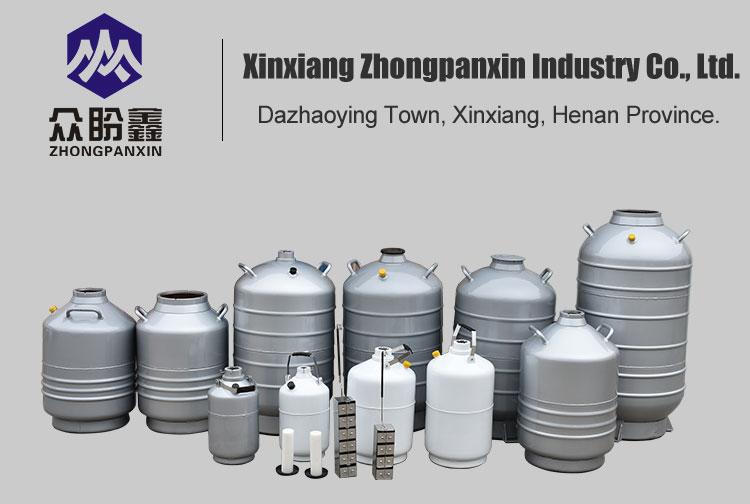 15Lts Cryo Chamber Liquid Nitrogen Dewar Tank