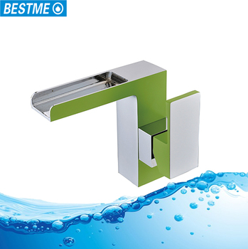 Modern design waterfall spout bathroom green bathroom for Waterfall green design centre