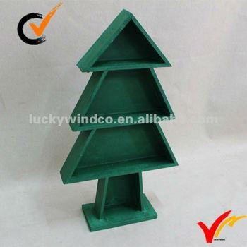 Wooden Standing Shelf With Xmas Tree Shape Buy Wooden Standing Shelf Home Decoration Wooden Decor Product On Alibaba Com