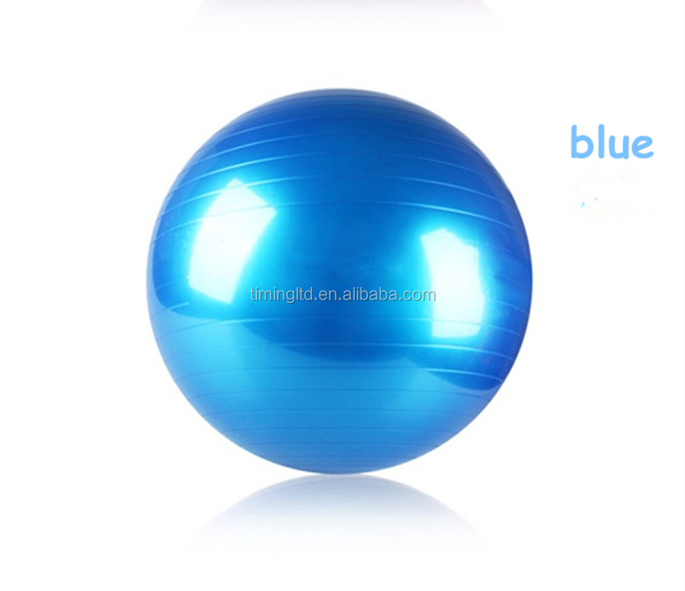 Eco-friendly pvc gym exercise ball fitness yoga ball