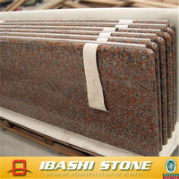 Prefabricated Red Granite Slab Cheap Red Granite Tile for Sale