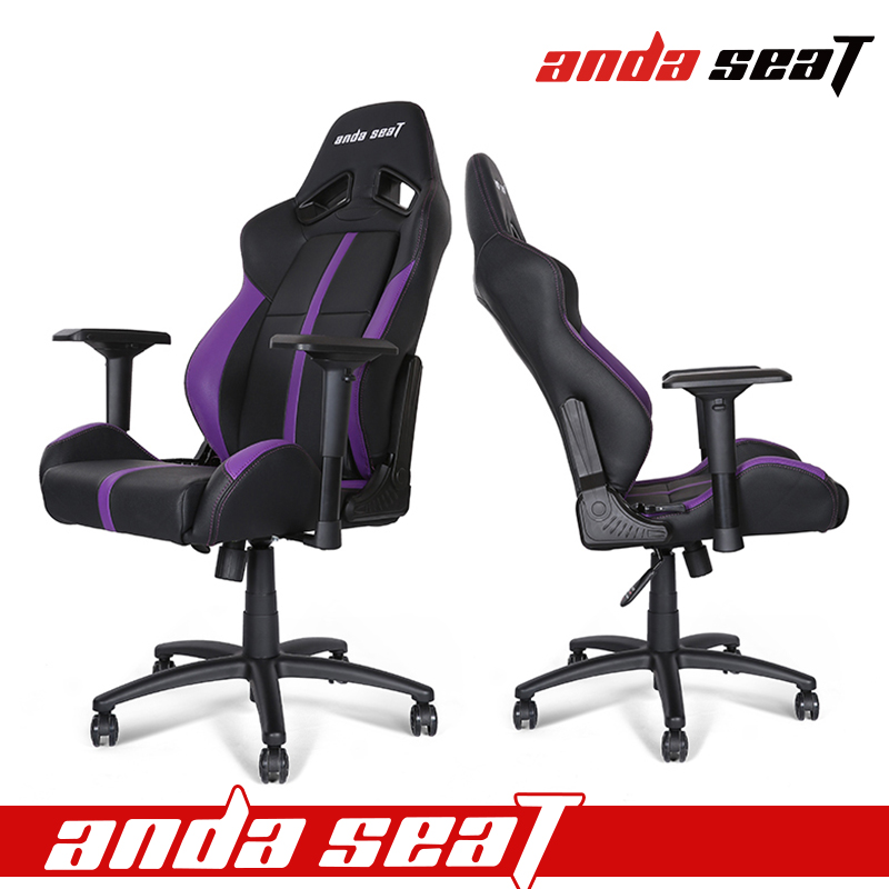 Racing Car Gaming Chair Black/purple Leather With New Design Ad7   Buy  Office Chair,Racing Office Chair,Game Chair Product On Alibaba.com