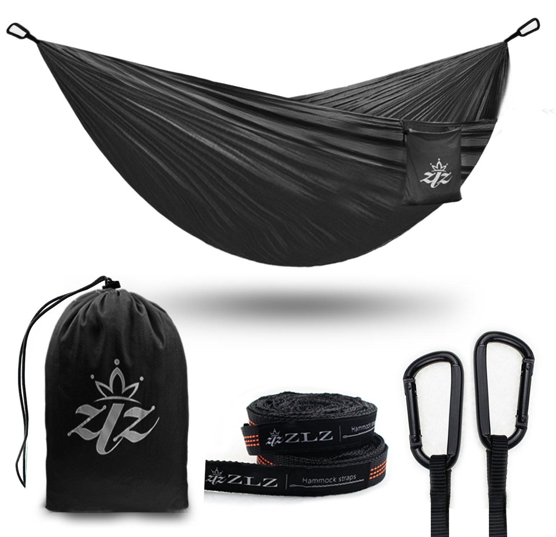 Buy XL Single & Double Parachute Camping Hammock, ZLZ Premium