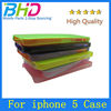 Ultra thin PC case for iphone 5 5S cover case