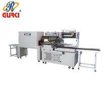 automatic l sealer machine (CE) heat shrink wrapper auto shrinking tunnel hot shrink wrap machine film shrink packing