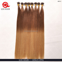 1B /60# Silky Straight Two One Color Human Hair Extension, Ombre Color Hair Weft