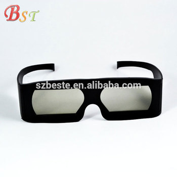 New arrival! plastic 3d glasses linearly polarized imax 3d glasses