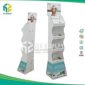 HIC body wash promotional display trays, power wing soap display standing
