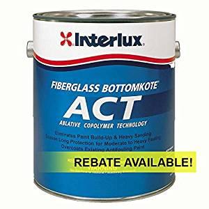 Interlux ACT Ablative Antifouling Bottom Paint Gallon Y5590U/1