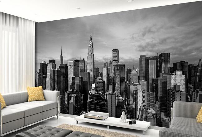 Custom Photo Wallpaper , New York City Wall Murals For The