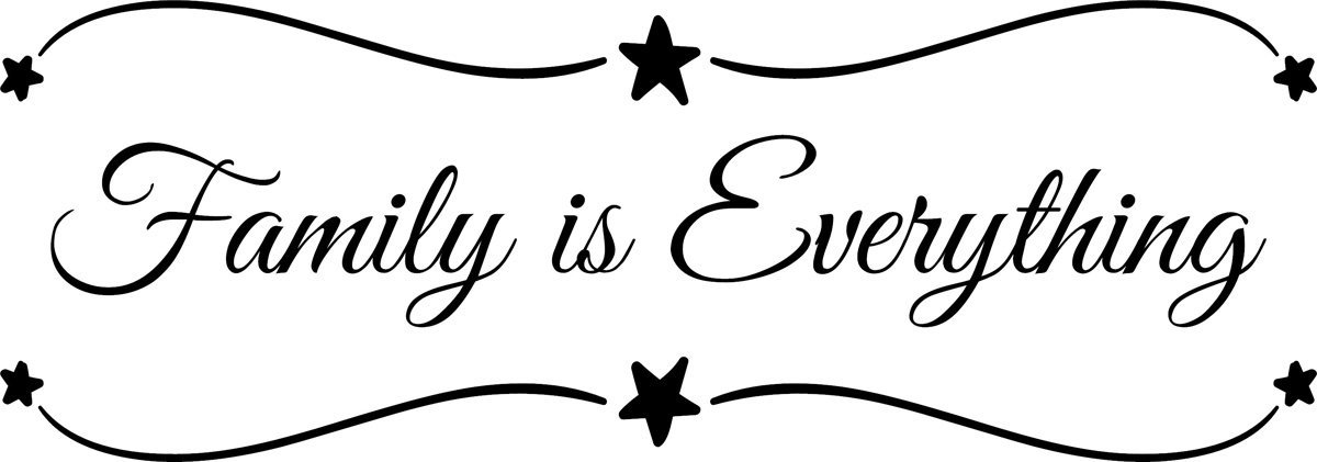 Buy Wall Decal Quote Family Is Everything Decals Wall Decal Quotes